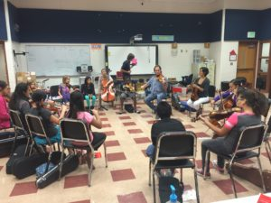 El Sistema Workshop in progress