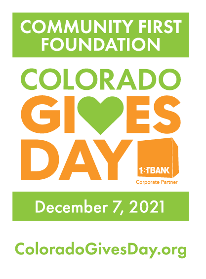 Community First Foundation Colorado Gives Day December 7, 2021